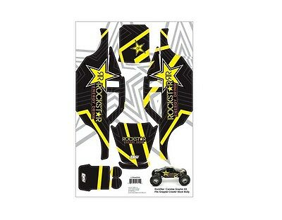 Losi Rockstar Graphic Decal Sticker Kit for Comp Crawler #LOSA8205 OZ RC MODELS