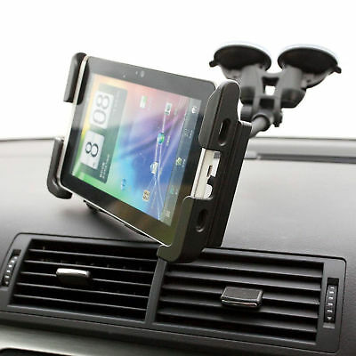 Dual Suction Car Windscreen Mount + Tablet Holder for Samsung Galaxy Tab 3 10.1