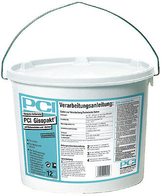 PCI Gisopakt 12 kg Improved the liability of Cleaning plaster from concrete