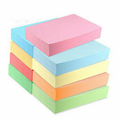 A4 Coloured Paper 80gsm Craft Paper Packs Printer Copier Paper Choose Colour 50s
