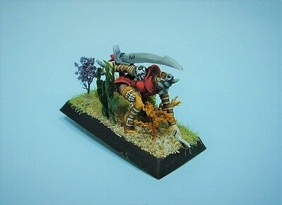 Confrontation painted miniature Griffin Executioner