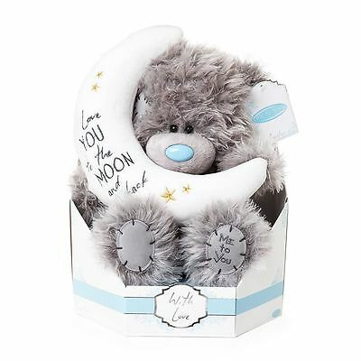 I Love You To The Moon and Back Me to You Tatty Teddy Blue Nose Bear