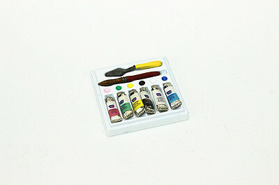 1/12 scale dollhouse miniature dollhouse accessories Painting tools Puppenhaus