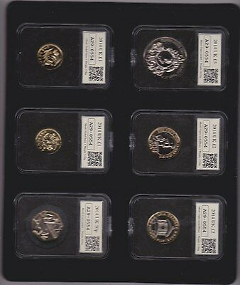 Boxed 2014 Datestamp Uk Uncirculated Year Set Of 12 Coins With Certificate