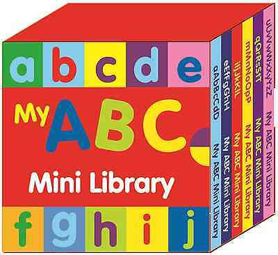 Preschool Abc Mini Library Learn The Alphabet & Letters Set Of 6 Books 2639/abcm