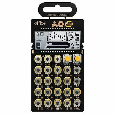 Teenage Engineering/Cheap Monday PO24 Pocket Operator Office Noise Percussion...