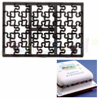Sugarcraft Patchwork cutters - Jigsaw Cutter - Cake decoration sugarpaste cutter