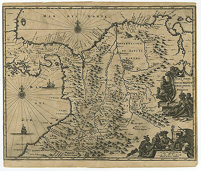 Antique Print-SOUTH AMERICA-CENTRAL-COSTA RICA-GUATEMALA-Ogilby-1671
