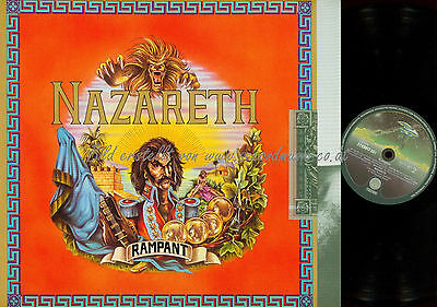 2 X 12 Quot Lp Nazareth Snaz B3647 Washed Amp Cleaned