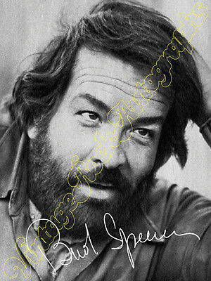 BUD SPENCER - print signed photo - foto con autografo stampato