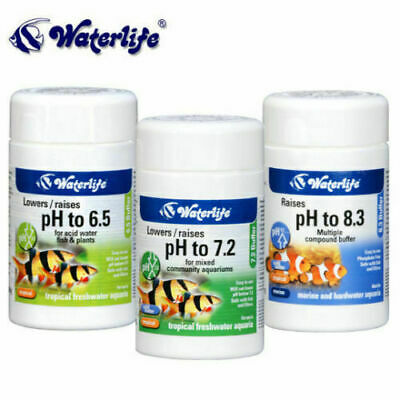 Waterlife Buffer 6.5 7.2 8.3 Raises / Lower PH Water Level in Aquarium Fish Tank