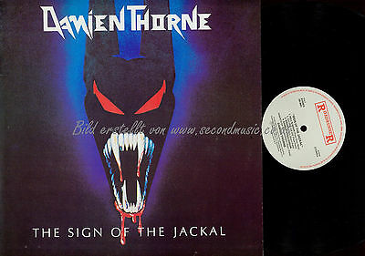 Lp--Damien Thorne // The Sign Of The Jackal // Rr9691