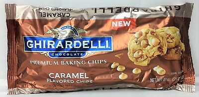 Ghirardelli Caramel Flavored Baking Chips 10 oz.