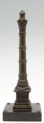 antique 19th C Grand Tour souvenir July Column Paris desk sculptur presse papier