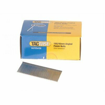 Tacwise 16g Angled Nails 32mm For DC618K (2500)
