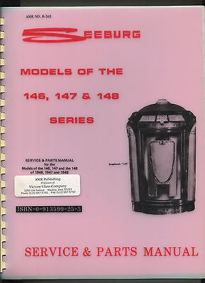 Seeburg AMR No. R-265  Models Of The 146,147 &148 Series Jukebox original manual
