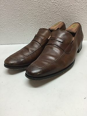 To Boot New York Moore Brown Leather Penny Loafer Shoes Mens Size 9