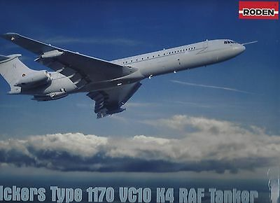 RODEN 328 1:144 Vickers Type 1170 VC10 K4 R.A.F. Tanker