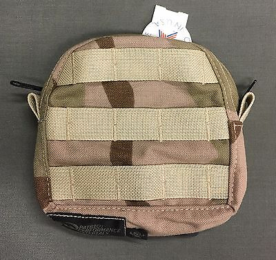 Medical First Aid Pouch MFP MOLLE MALICE Desert Camo DCU Patriot Performance NWT