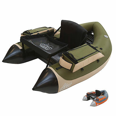 Outcast Super Fat Cat LCS Fully Inflatable Fly Fishing Float Tube U-boat