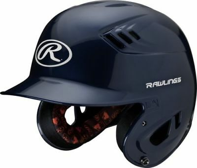Rawlings R16 R16S-N Senior (6 7/8 - 7 5/8) Metallic Navy Batting Helmet