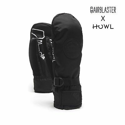2017 NWT MENS HOWL FAIRBANKS SNOWBOARD MITTENS $60 S airblaster collab gloves