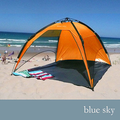 BRAND NEW Blue Sky Beach shade speedy quick automatic popup pop up Tent BSB-200