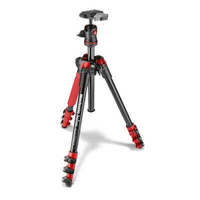 Manfrotto Befree Compact Travel Photo Tripod - Red