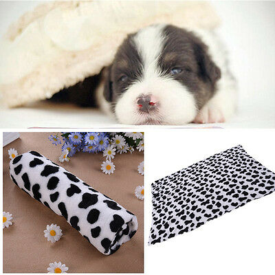 Stylish Soft Pet Mat Coral Velvet Warm Cat Dog Puppy fleece Blanket Bed Cushion