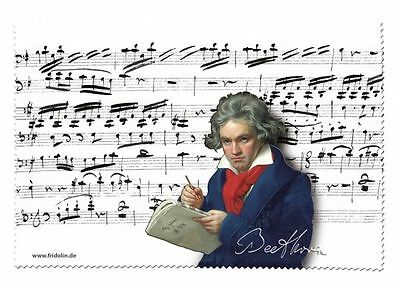Beethoven - Glasses Cleaning Cloth Microfibre
