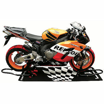 Official Moto GP Front & Rear Motorcycle Paddock Track Stand Set for MotoGP