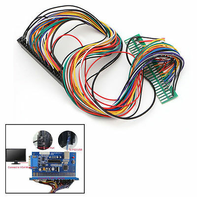 all 56 pins Full Jamma Extender Harness for your current JAMMA boards with coin