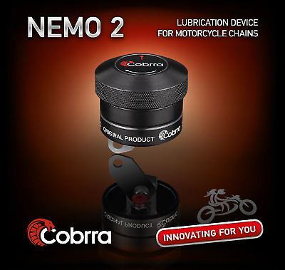 Cobrra Nemo 2 Motorcycle / Motorbike Automatic Chain Lubrication System-Honda