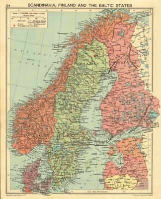 WORLD WAR TWO. Russo-Finland borders March 1940 post Winter War. Hango 1940 map