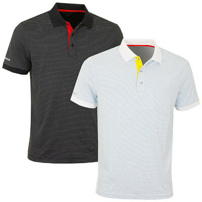 66% OFF RRP Sunice 2017 Mens Rauma SS Stretch Anti-Mircrobial Golf Polo Shirt