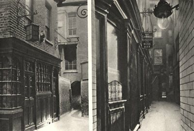 LONDON. Mitre in Ely Place & George & Vulture. Mr Pickwick found quarters 1926