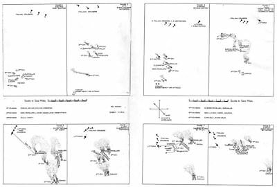 LIBYA. Malta Convoys & 2nd battle of Sirte. Action Gulf 1960 old vintage map