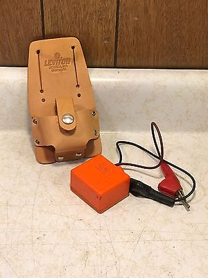 Aines Mfg. Corp. Tone Test Set 140B/MC with Holster / Case Tested and Working
