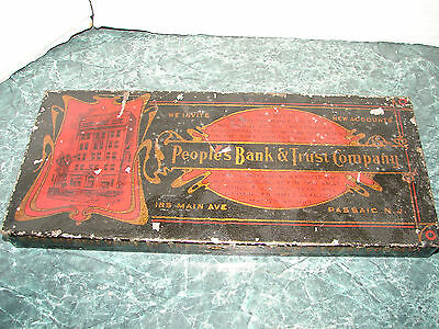 Vintage Safe Deposit Vault Of The People's Bank & Trust Company Passaic Nj