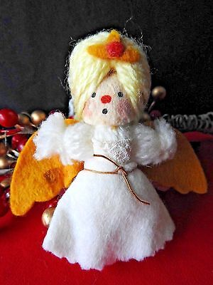 Hallmark  Angel Yarn Ornament