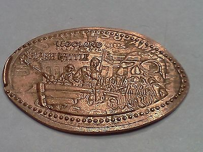 "LEGOLAND CALIFORNIA-Elongated / Pressed Penny-""copper"" H-954"