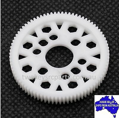 Yeah Racing Delrin Spur Gear 48P 84T For 1:10 RC On or Off Road HPI or Axial