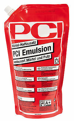 PCI Emulsion 1 kg mortar adhesive additive to Improve by mortar and Cleaning