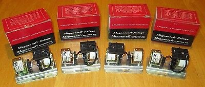 4 PIECES NOS NIB Latching Relay Magnacraft SPST 120VAC Coil 1/4 HP VINTAGE DALX7