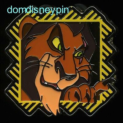 Disney Pin *2017* Parks Starter Set *The Lion King* Series - Scar (ONLY)!