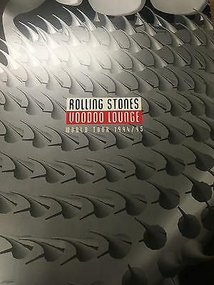 THE ROLLING STONES Voodoo Lounge 1994 - 1995 World Tour Programme RARE