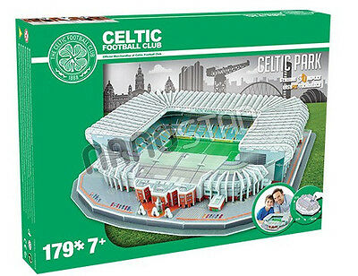Official Celtic Park Stadium 3D Puzzle Model Licensed Product Football Club FC