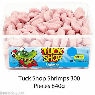 Tuck Shop Shrimps Tub Sweets Box Party Favours Treats Discount Candy Easter