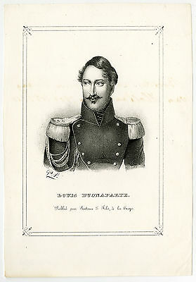 Antique Print-LOUIS NAPOLEON BONAPARTE-EMPEROR-FRENCH EMPIRE-Anonymous-ca. 1840