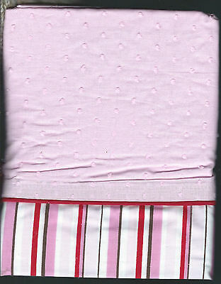 Valances two cherry blossom by kidsline nursery baby 60 x 14 inches